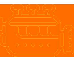 Indusrty boiler vector